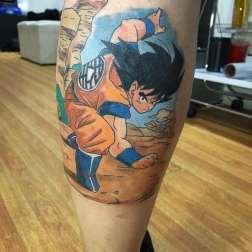Goku MangaColor